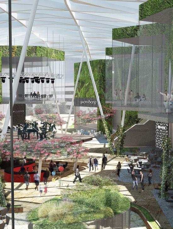 Terrazas Mall Plaza Vespucio Pg Arquitectos
